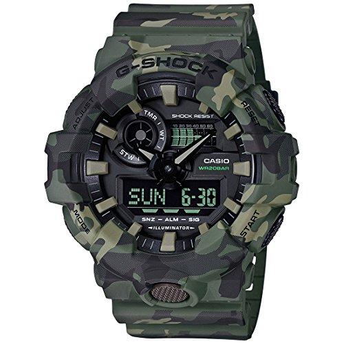15. Casio G-Shock Analog-Digital Black Dial Men's Watch