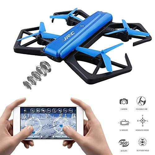 MaanZys WiFi FPV 720P Telecamera HD Drone Autoscatto Quadcopter P-sensore Pieghevole Mini RC Selfie Dron Quadcopter