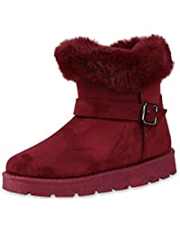 66f33cdf40 Suchergebnis auf Amazon.de für: rote stiefel - Keilabsatz / Stiefel ...