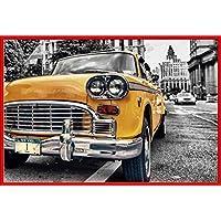 Empire - Póster de taxi amarillo en Nueva York (incluye accesorios)