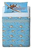 Disney Planes Heroes - Juego de sabanas 3 piezas para cama de 90 cm