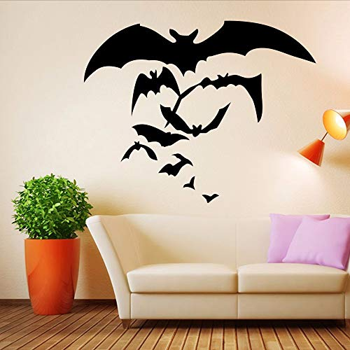 Ljtao Happy Halloween Startseite Haushalt -Raum -Wand -Aufkleber -Wanddekor -Aufkleber Removable Neue Schlafzimmer -Dekoration -Wand -AufkleberDiy