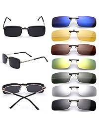 Amazon.es: clip para gafas para sol - Hombre: Ropa