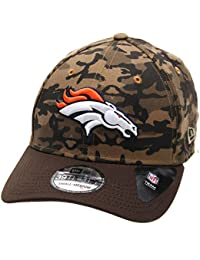 New Era 39Thirty Cap - WOOD CAMO Denver Broncos