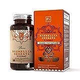 FS Boswellia Serrata franchincenso estratto ad ALTA POTENZA 5:1 - 2000 mg per capsula | 120 capsule vegane | Integratore contro dolore ed infiammazione delle articolazioni - Senza OGM e glutine
