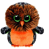 TY Beanie Boo Plush - Halloween Midnight Owl 15cm
