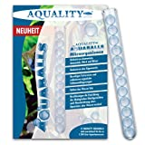 AQUALITY AQUABALLS - 12 Balls (0,75 €/Stück) (GRATIS Lieferung innerhalb Deutschlands - Natürliche Mikroorganismen eingefügt in den neuartigen AQUABALLS zur Verbesserung der Wasserqualität im Aquarium)
