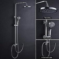 Artikelbeschreibung:     - Beginnen Sie den Tag mit einer warmen Dusche!    - Der elegante Stil sowie das zeitlos formschöne Design dieser hochwertigen Duschset verleihen Ihr Badezimmer das gewisse Etwas.    - Dieser Duschsystem setzt höchste Maßs...