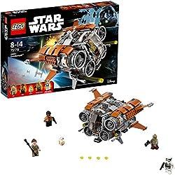 LEGO Star Wars - Le Quadjumper de Jakku - 75178 - Jeu de Construction