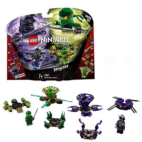 LEGO Ninjago Spinjitzu Lloyd vs. Garmadon - Peonzas