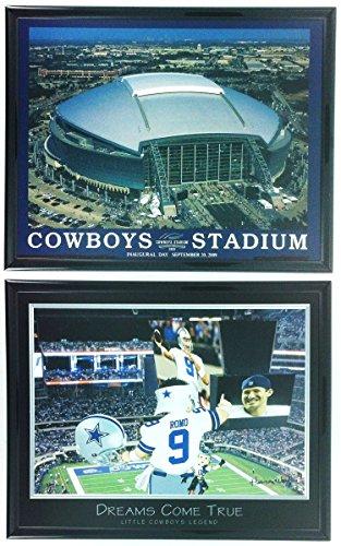 Fußball Dallas Cowboys gerahmt Prints Cowboys Stadion Set von 2ll5002