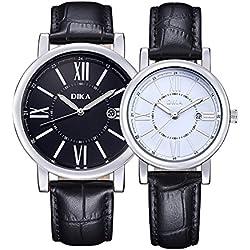 Couple watches/Fashion strap waterproof watch/ outdoor quartz watch-D