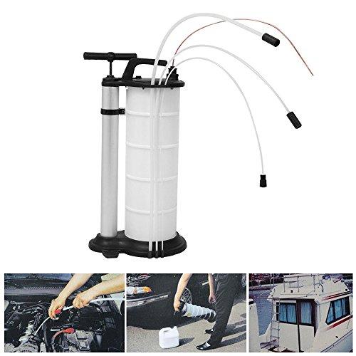 9 litri Aspiratore manuale per liquidi e olio aspiratore, pompa a mano, automobile, motore, motore, olio motore, carburante, benzina, refrigerante, acqua, rimozione, pompa, trasferimento, pom