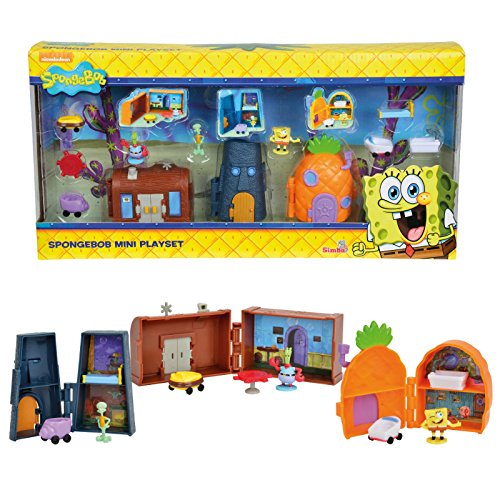 Image of Spongebob Mini Playset