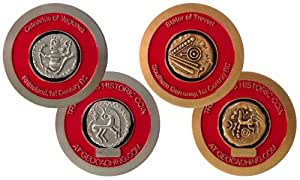 Cache Zone's Historic Geocaching Celtic Geocoin Set & Geocache