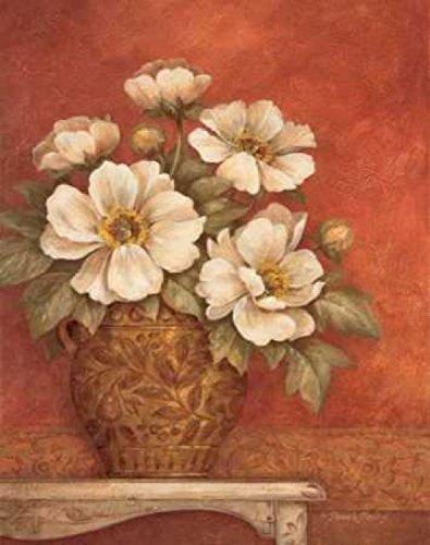 The Poster Corp Pamela Gladding - Villa Flora Peonies Kunstdruck (55,88 x 71,12 cm) -