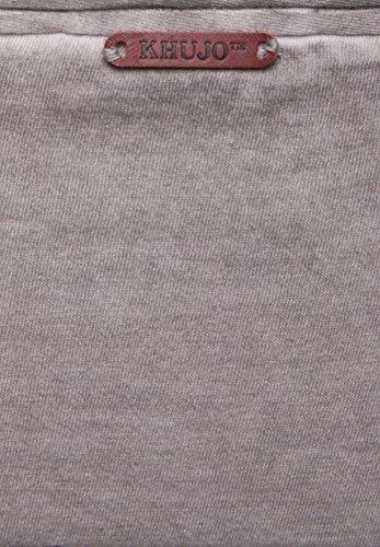 khujo Herren Shirt TRYST 2334SH161_240 hellgrau (240LT-GREY)