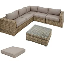 Rattan sint tico muebles terraza for Amazon muebles terraza