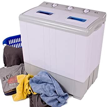 tectake portable mini washing machine 4 kg spin 3kg large appliances. Black Bedroom Furniture Sets. Home Design Ideas