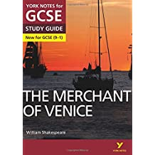 The Merchant of Venice: York Notes for GCSE (9-1)