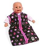 Bayer Chic 2000 792 48 - Puppen-Schlafsack, rosay Balls
