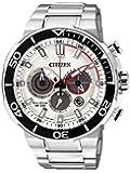 Citizen Herren-Armbanduhr Chronograph Quarz Edelstahl CA4250-54A