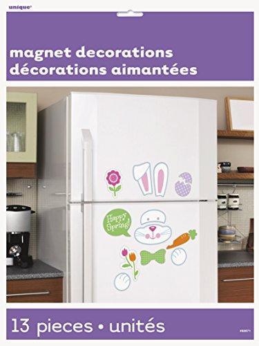 Unique Party Supplies Frühjahr Ostern Bunny Dekoration Kühlschrank Magnete (Kühlschrank-magnete Ostern)