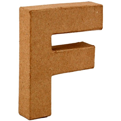 country-love-crafts-4-inch-10cm-3d-letter-f-papier-mache