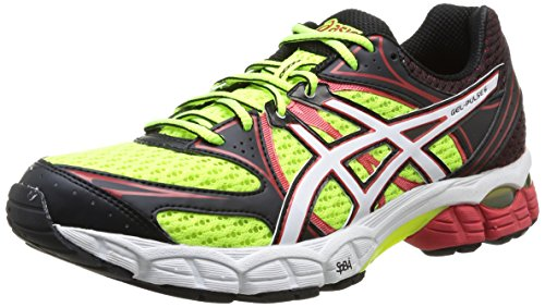 ASICS Gel-Pulse 6, Herren Outdoor Fitnessschuhe Rot (Flash Gelb/Weiß/Fiery Rot 0401)