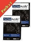 SYNActifs - SOMactifs - Complément alimentaire pour retrouver un sommeil serein et naturel - Mélatonine, Acides Aminés, Huiles essentielles microencapsulées et des Plantes - Lot de 2 x 30 Gélules