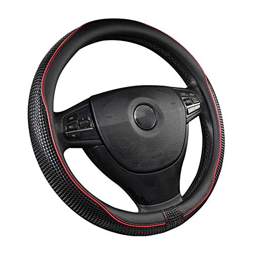 """AQWWHY Universal Fit Auto Lenkradabdeckung 37-39 cm / 15""""Anti Rutsch Massage Wirkung Atmungsaktive Schutz Auto Zubehör für Auto"""