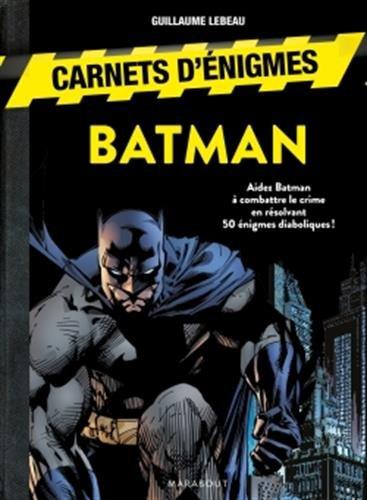 Carnet d'énigmes Batman