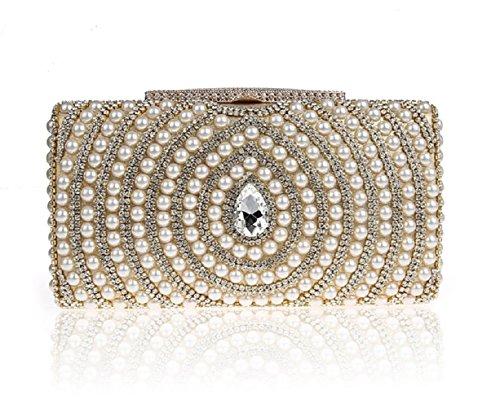 Sac à main strass/ perlé pochette/Fashion sac à dîner-F F