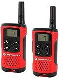 Motorola TLKR T40 PMR Funkgerät mit LC-Display rot Bild 2