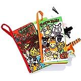 Jollybaby - Libro Blando de Bebé Aprendizaje y Educativo Libro de Tela