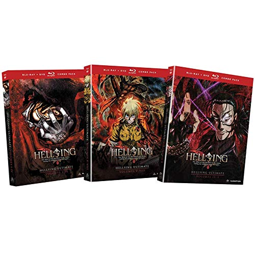 Hellsing Ultimate: Complete Anime OVA Series Blu-ray / DVD Collection - Episodes 1-10