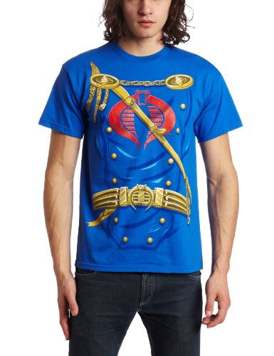 G.I. Joe Suit Up Cobra Commander Royal Blue -