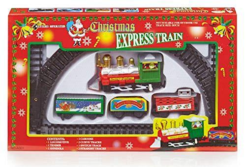 Batteriebetriebenes Kinder Weihnachts Express Eisenbahn Set