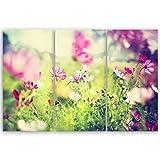 Bilderdepot24 hochwertiges Leinwandbild XXL - Frühling - 120 x 80 cm mehrteilig (3 teilig) 1274