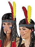 Boland 44120 – Stirnband Indianer, Einheitsgröße, mehrfarbig - 2