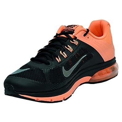 Nike Men's Air Max Excellerate+ 2 Black,Metallic Silver,Bright Mango  Running Shoes -11 UK/India (46 EU)(12 US)