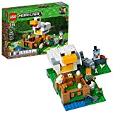 LEGO Minecraft The Chicken Coop 21140 - Kit de construcción (198 Piezas)