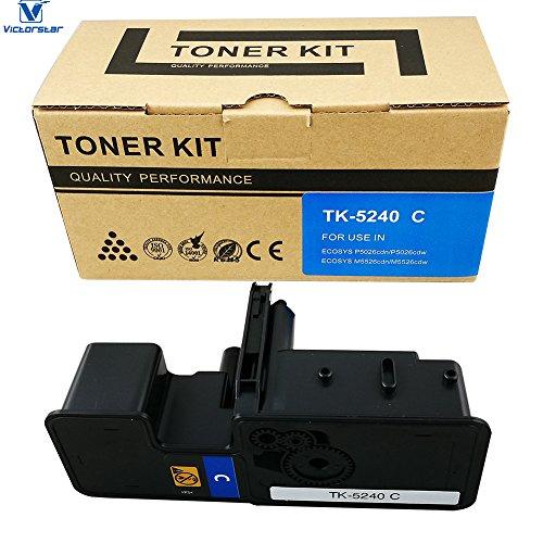 VICTORSTAR @ Cartucho Tóner Compatible TK5240 / TK-5240