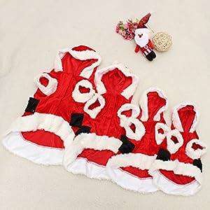 Manteau chien chat Vêtements Costume Veste à capuche de Noël décoration amimaux