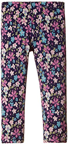 UCB Kids Baby Girls' Trouser (15A3HH4I0145G902_Blue and Print_2Y)