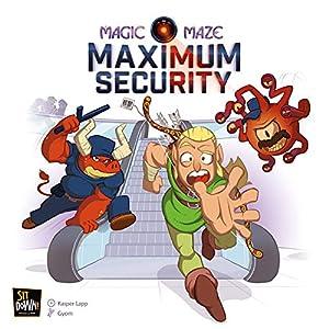 Sit Down!. sitms17g-Magic Maze: máx Security Expansion, multilingüe
