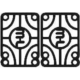 "Mini Logo Black Shock Pads - 1/10"""