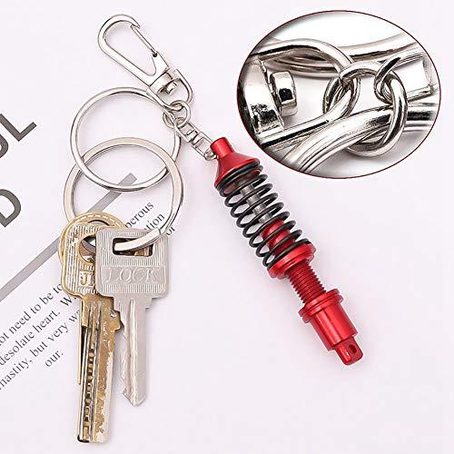 Auto-Tuningteile Justierbarer Keychain Frühlings-Auto-Teil-Stoßdämpfer-Schlüsselring