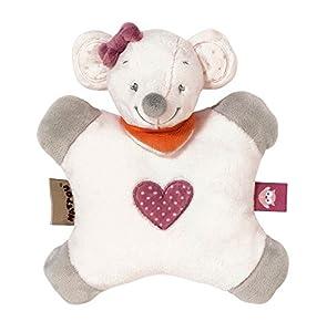 Nattou- Adèle & Valentine NA424097-Set de Regalos para recién Nacidos, Color ratón valentine (424097)