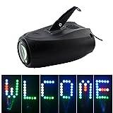 Mini 64 LED RGBW Sound aktiv 24 Gitter Muster Weihnachten Halloween Projektor Lichter Home Party DJ zeigen Bühnenbeleuchtung LED-M03